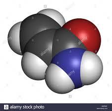 Acrylamide Molecule Polyacrylamide Building Block And Heat Generated Food Pollutant Electrophoresis