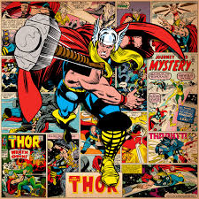 Halloween Havoc 1998 Scott Keith by Marvel Comic Book Thor On Thor Covers U0026 Panels Square Canvas Wall