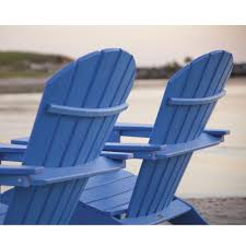 Navy Blue Adirondack Chair Cushions by Polywood South Beach Ultimate Adirondack Chair Hna15