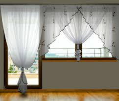 gepunktete gardinen vorhänge fürs wohnzimmer günstig