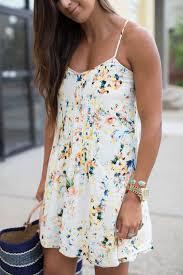 floral cami dress a southern drawl
