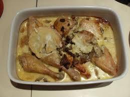 cuisiner le mont d or photo 2 de recette poulet au mont d or et chignons marmiton