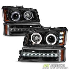 Blk 2003-2006 Chevy Silverado 1500 2500 LED Halo Headlights+LED DRL ... 881998 Chevy Truck 8piece Black Halo Headlights Set Wxenon Bulbs Billet Front End Dress Up Kit With 7 Single Round 1973 Lumen Ck Pickup 1964 Projector Led Dna Motoring For 0306 Silveradoavalanche 4pc Headlight 5 Inch 1958 Wiring Diagrams Schematics 03 04 05 06 Silverado 1500 Tail Lights Parking Light 9499 Suburban Blazer Headlamps Light Blue Trucks Elegant Chevrolet Colorado Crew Cab Photo 9902 1 Piece Grille Cversion Dash In 2017 Are Awesome The Drive 072014 Tahoe Avalanche Tron Style Neon Tube