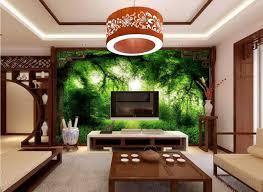 papier peint cuisine 3d stéréoscopique papier peint paysage peinture personnalisé hd