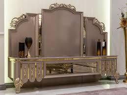 casa padrino luxus barock tv schrank schwarz grau gold 214 x 52 x h 164 cm massivholz schrank wohnzimmerschrank edel prunkvoll