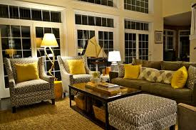 Grey And Yellow Living Room LOVE This Is What I Want In My
