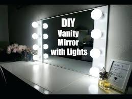 Diy Vanity Desk With Lights by Vanities Tables Ideas For Making Your Own Vanity Mirror With