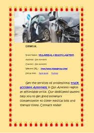 100 San Antonio Truck Accident Lawyer Best Car Crash Attorneys In