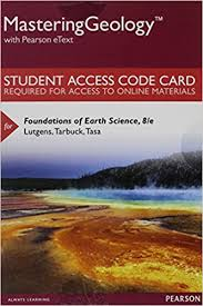 Mastering Geology With Pearson EText Standalone Access Card