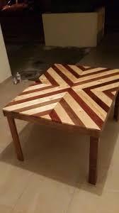 best 25 chevron coffee tables ideas on pinterest pallet table