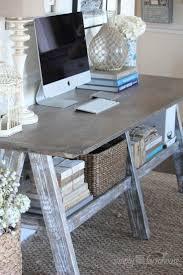 Building A Simple Wood Desk by Best 25 Farmhouse Desk Ideas On Pinterest Farmhouse Office