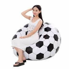 Inflatable Seat, Large Modern Bean Bag Chair For Adults And ... Bean Bag Factory Soccer Chair Cover Stuffed Animal Storage Seat Plush Toys Home Organizer Beanbag Amazoncom Ball Sports Kitchen Kids Comfort Cubed Teen Adult Ultra Snug Fresco Misc Blue Gold Nfl Los Angeles Rams Pretty Elementary Age Little Girl On Sports Day Balancing Cotton Evolve Faux Suede Gax Sport Large Small Classic Chairs Sofa Snuggle Outdoor And Indoor Big Joe In Sportsball