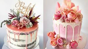 cake decorations awesome cake decorating compilation the most satisfying