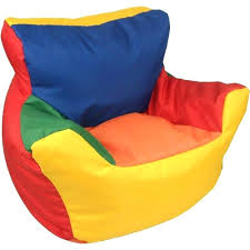 Poof Chair Bean Bag Sofa Size Of Filling Bin Corduroy