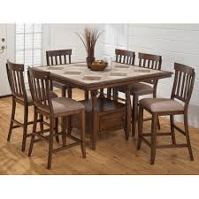 Tucson 7 Piece Counter Height Dining Set