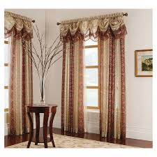 Allen Roth Curtains Alison Stripe by Shop Valances At Lowes Com