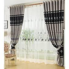 magnificant blau wohnzimmer schöne zimmer gardinen mit