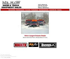 100 Truck With Snow Plow For Sale Mr Equipment Competitors Revenue And
