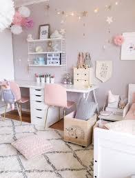 A Scandinavian Style Shared Girls Room