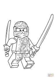 Click The Lego Ninjago Kai Nrg Coloring Pages To View Printable Version Or Color It Online Compatible With IPad And Android Tablets