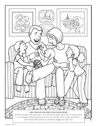 Family Coloring Pages Advertisements