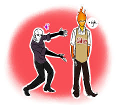 The Grillster By Noire73 On DeviantArt Grillby Gaster Pairing Undertale