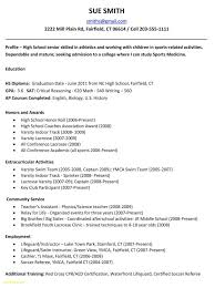 High School Student Resume Objective By Jonathan W Mohler Sample For Beautiful Basic Highschool Graduate