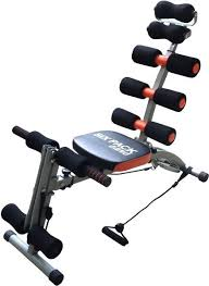 Six Pack Care Abdominal Machine Black price review and in