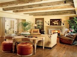 Rustic Style Living Rooms Decorating Small Minimalist Decor Ideas Room