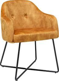 home affaire polsterstuhl biel armlehnstuhl mit pfeifenlochsteppung moderner esszimmersessel stuhl mit modernem gestell 2er set kaufen