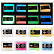 Amazoncom HXDZFX Glow In The Dark Pigment Powder Luminous Powder