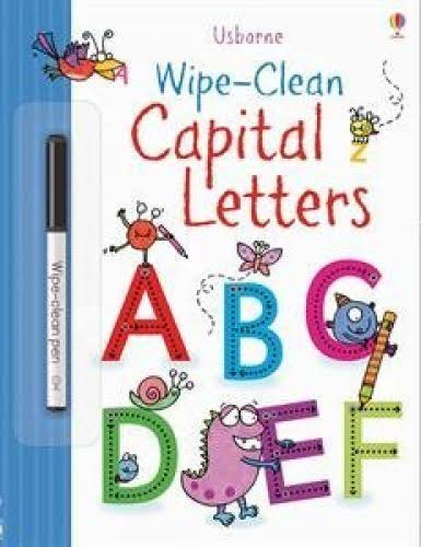 Wipe-clean Capital Letters [Book]