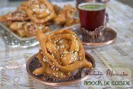amour de cuisine chebakia marocaine mkherka amour de cuisine