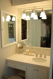 bathroom wonderful vanity with makeup area desigining home