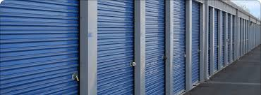 Roll Up Doors On Storage Facility