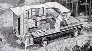 This Pickup Truck Camper Was Pretty State-of-the-art Stuff For RVs ...