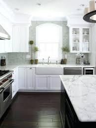 white brick tile backsplash kitchen fabulous best for white