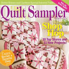Quilt Sampler Table of Contents Spring Summer 2012