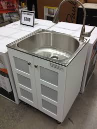 Stainless Steel Utility Sink by Stainless Utility Sink With Cabinet Befon For