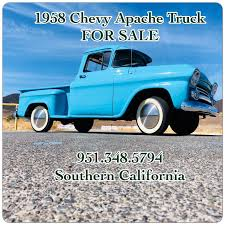 100 1958 Chevy Truck For Sale Great Chevrolet Other Pickups C10 Chevrolet Apache Step