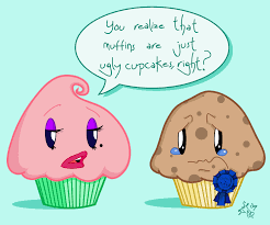 Cupcake Muffin Funny Cartoons
