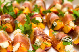 Prosciutto And Peach Appetizers ~ Food & Drink Photos ~ Creative ... Best 25 Outdoor Party Appetizers Ideas On Pinterest Italian 100 Easy Summer Appetizers Recipes For Party Plan A Pnic In Your Backyard Martha Stewart Paper Lanterns And Tissue Poms Leading Guests Down To Freshments Crab Meat Entertaing 256 Best Finger Foods Ftw Images Foods Bbq House Wedding Hors Doeuvres Hors D 171 Snacks Appetizer Recipe Ideas Southern Living Roasted Fig Goat Cheese Popsugar Food