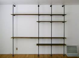 how to build an industrial plumbing pipe closet organizer part 1