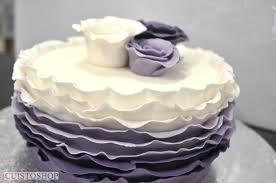 gâteau pate a sucre frou frou