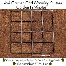 Garden In Minutes Garden Grid Watering System - 4x4 - Garden Irrigation  System & Plant Spacing Guide - Raised Bed Gardens, Square Foot Gardens, ... High Quality Organic Ftilizer And Garden Supplies Welcome You Have Discovered Black Jungle Exotics The Natural Choice Outlet Coupon Codes 2018 Columbus In Usa 20 Off Any Single Item Promos Midwest Gardeners Supply Coupon Codes Ttodoscom How Can Tell If That Is A Scam Reading Buses Promo Code Supply Company View Modern Rooms Colorful Design Coupons Promo Shopathecom Upcodelocation Urban Farmer Seeds