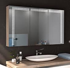 spiegelschränke mit oder ohne led beleuchtung glaswerk24