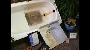 columbus bathtub reglazing by bath magic inc youtube