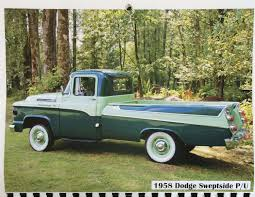 1958 Dodge Sweptside - Show & Shine - Shannons Club Autolirate Enosburg Falls Vermont Part 1 1958 Dodge Panel D100 Sweptside Pickup Truck Cool Trucks Pinterest 1958dodgem37b1atruck02 Midwest Military Hobby 2012 Ram 5500 New Used Septic For Sale Anytime Realrides Of Wny Town Bangshiftcom Power Wagon Rm Sothebys Santa Monica 2017 Sale Classiccarscom Cc919080 Dw Near Las Vegas Nevada 89119 Rare In S Austin Atx Car Pictures Real Pics Color Rendering Vintage Ocd