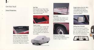1991 Nissan Trucks Genuine Accessories Brochure - NICOclub