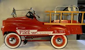 Novelty & Toy Pedal Fire Truck, 39